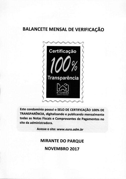 MIRANTE DO PARQUE - 2017/11