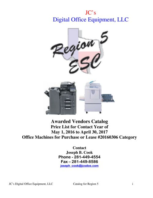 JCS Digital Office Equipment