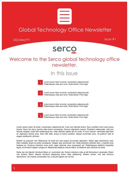 Newsletter Design 2