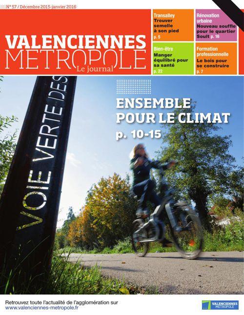 Valenciennes Métropole le Journal numéro 57