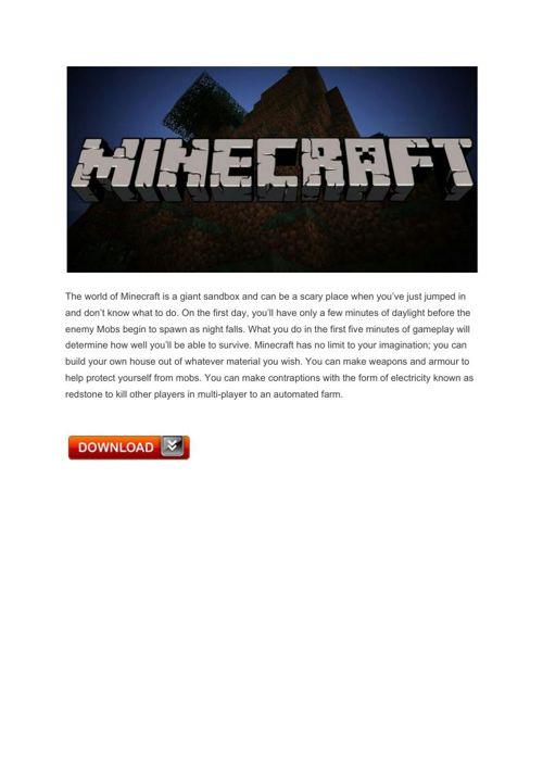 19 Minecraft – PlayStation4