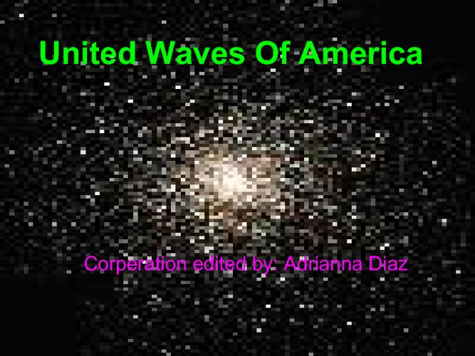 united waves of america