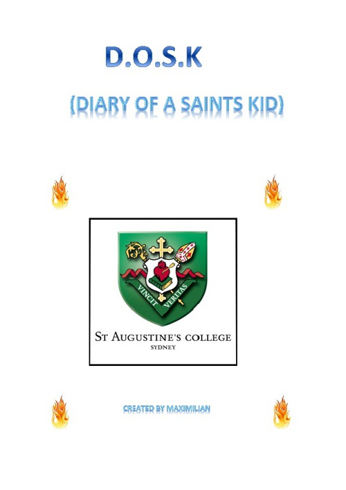 Diary of a Saint Kid by Max