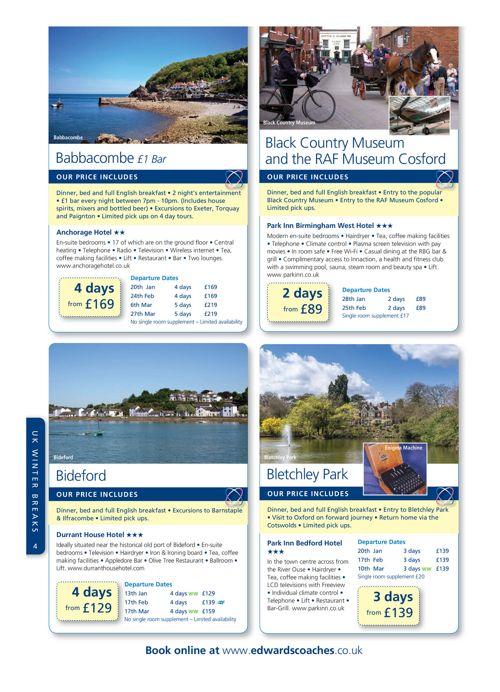 Winter Brochure 2016-2017