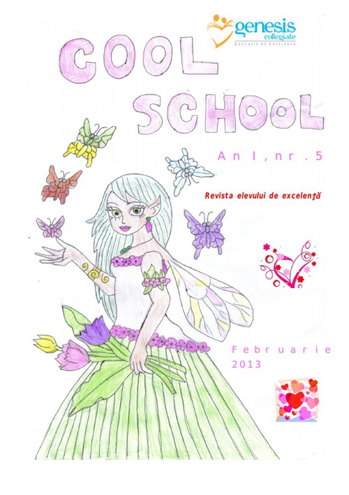 Cool School 5, Revista Scolii Genesis