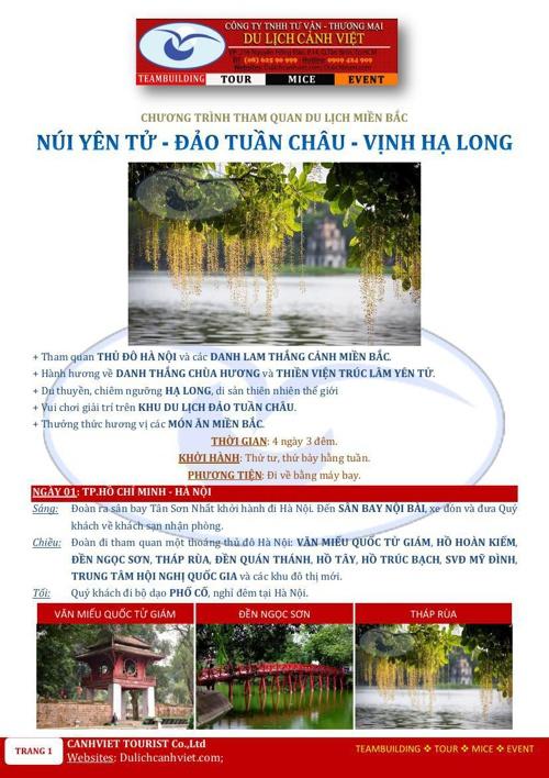 NUI YEN TU-DAO TUAN CHAU-VINH HA LONG-4N3D-MAYBAY