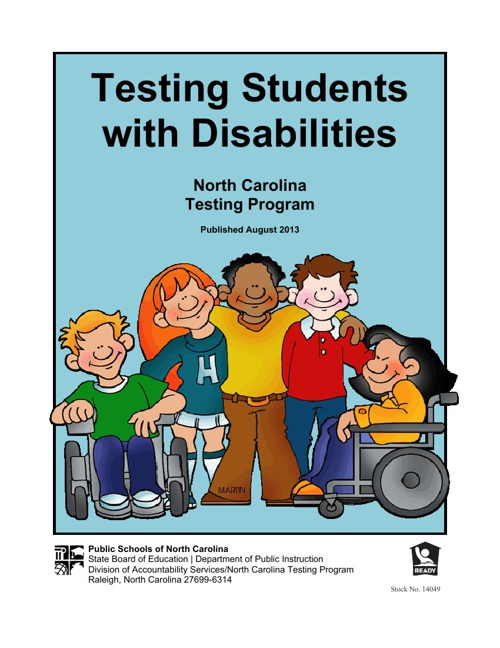 Testing Students with Disabilities 2013-2014
