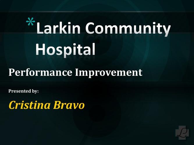 Performance Improvement Presentation