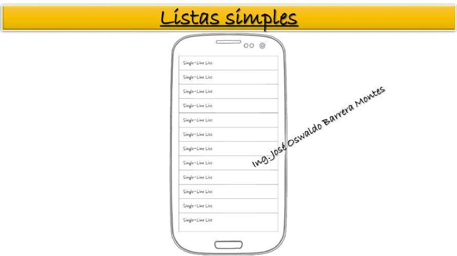 Lista simple