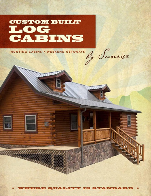 Sunrise Log Cabins Catalog