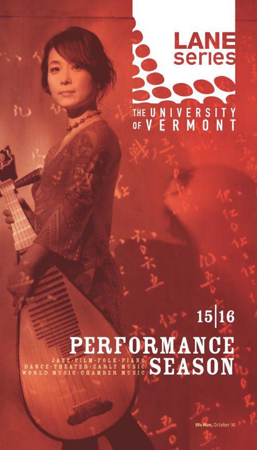UVM Lane Series Performance Season 2015–2016