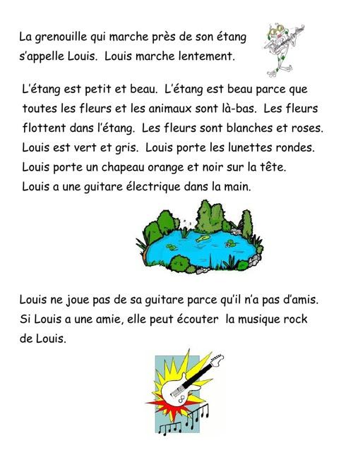 Louis la Grenouille - 5e année