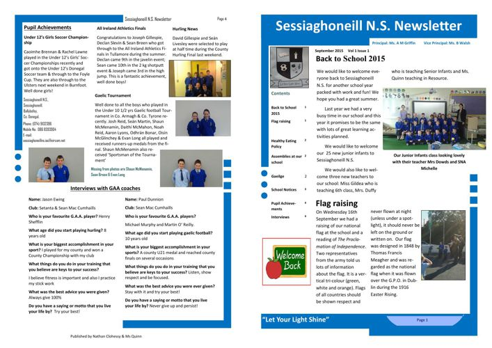 September Newsletter