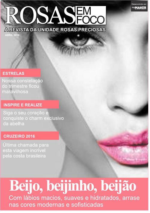 Revista Rosas em Foco - Abril16