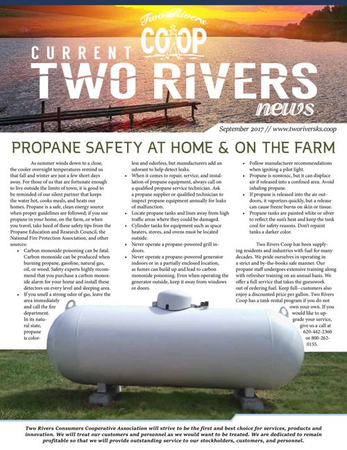 Current Two Rivers News | September 2017