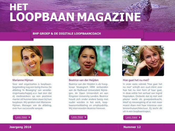 Het Loopbaan Magazine: 12e editie