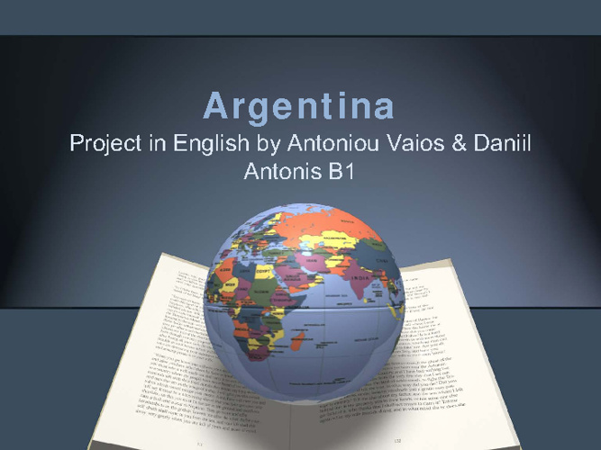 Argentina project
