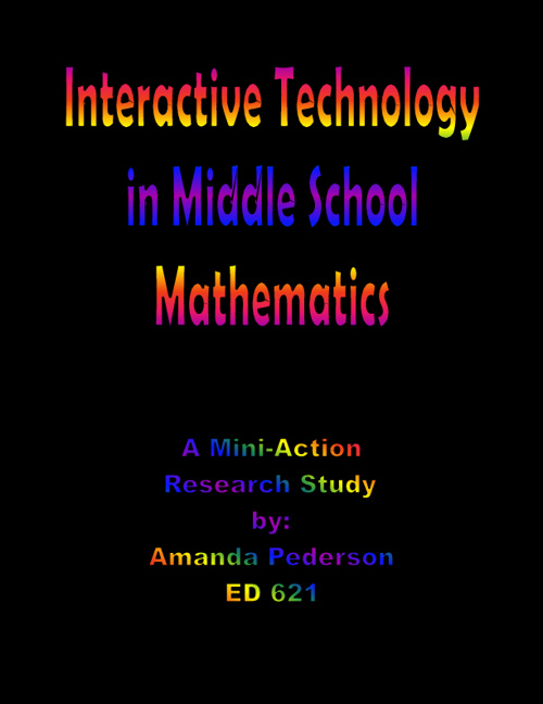Interactive Technology in Middle School Mathematics