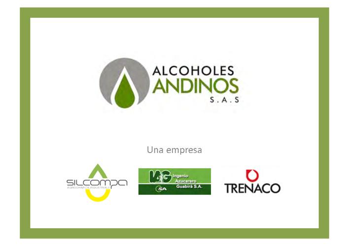 ALCOHOLES ANDINOS