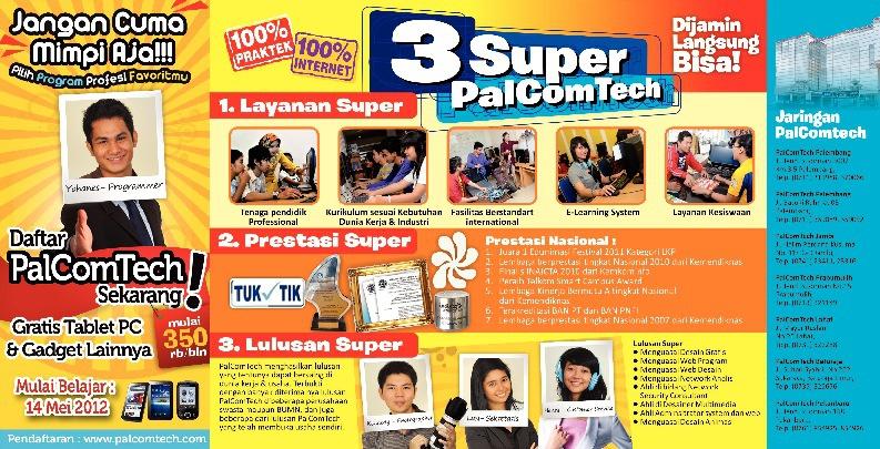 Brosur Komputer & Internet Professional 1th