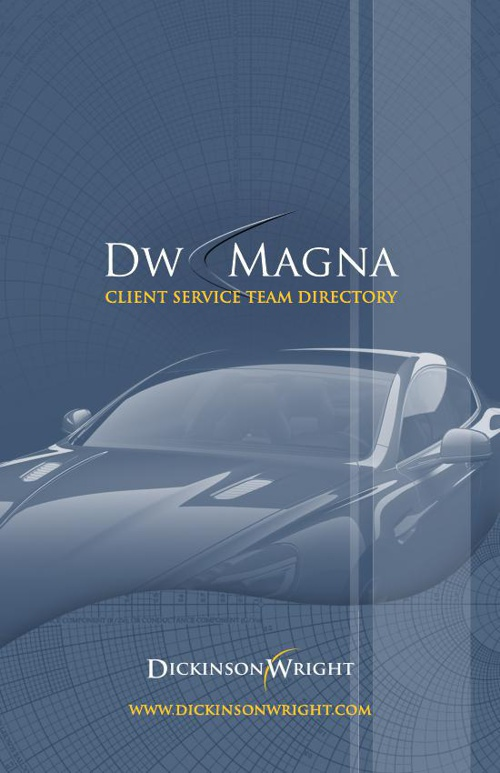 Magna Client Service Team Directory 2014