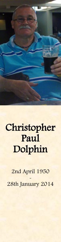 Bookmark for Christopher Dolphin