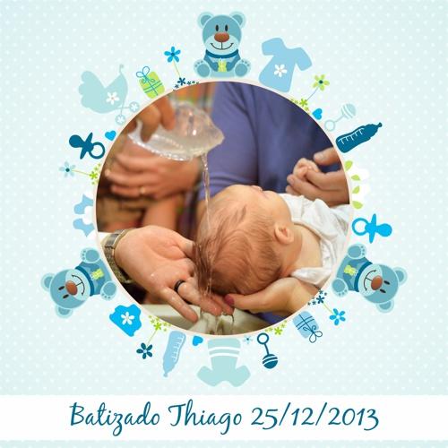 Batizado Thiago