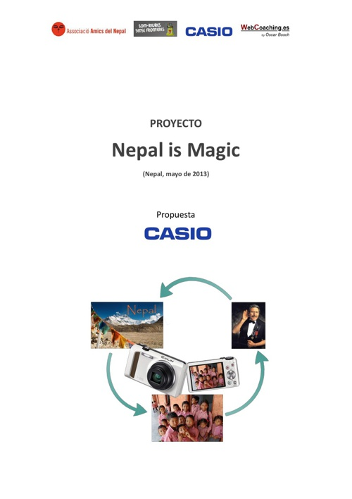Nepal is Magic with Casio