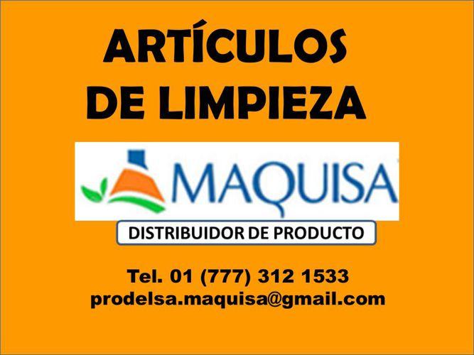 CATALOGO ARTÍCULOS DE LIMPIEZA