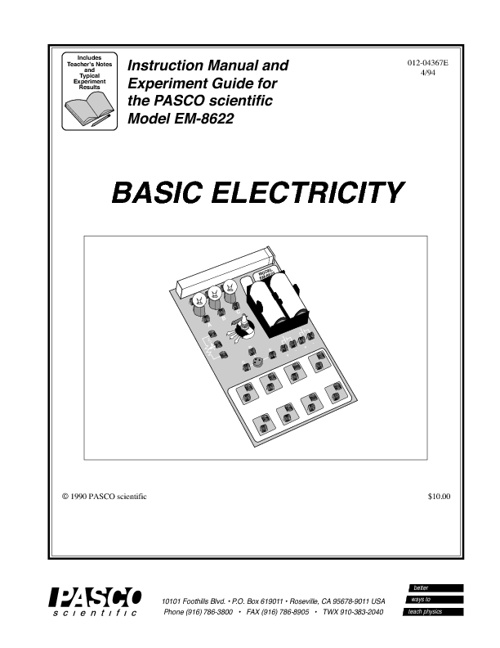 LAB - Basic Electricity Manual