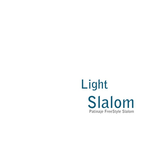 Light Slalom - Patinaje FreeStyle Slalom