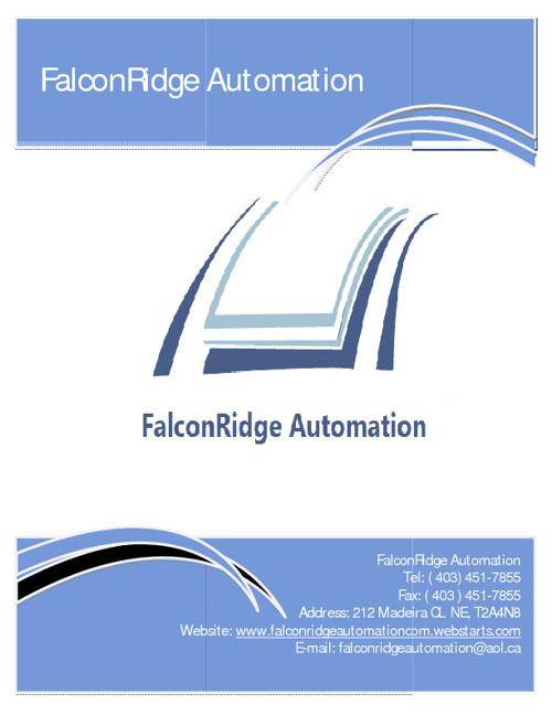 FalconRidge Automation