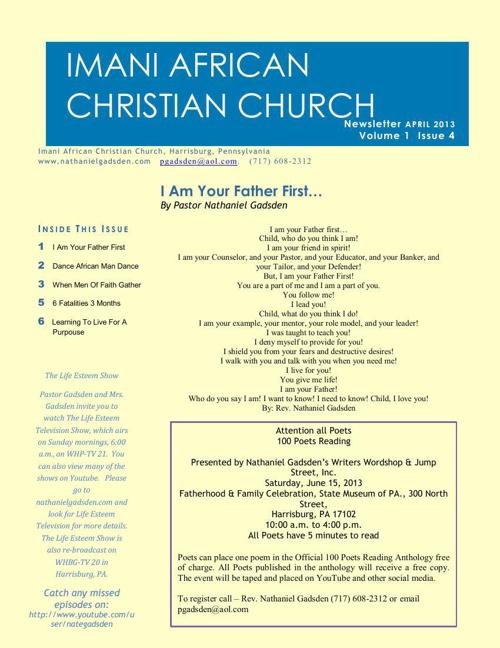 imani Newsletter April
