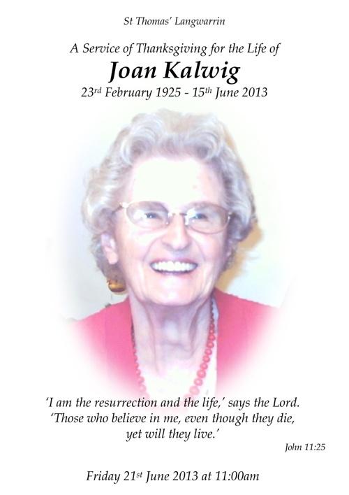 Joan Kalwig