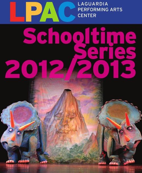 LPAC 2012-13 Schooltime Series