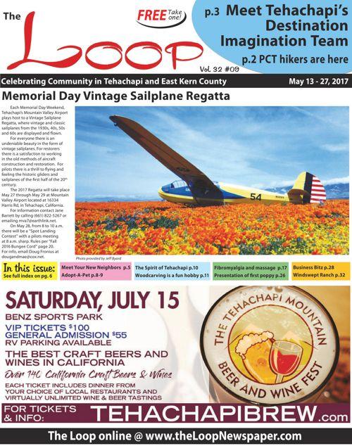 The Loop Newspaper Vol 32 No 09 - May 13 to 27, 2017