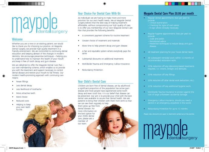MaypoleDentalBrochure