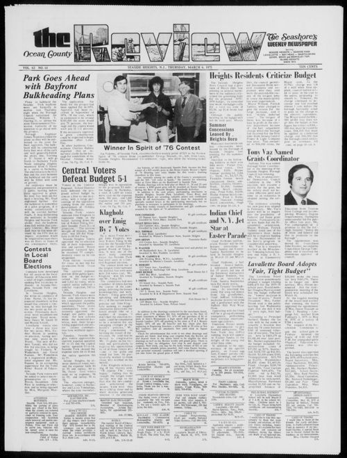 Review March 1975