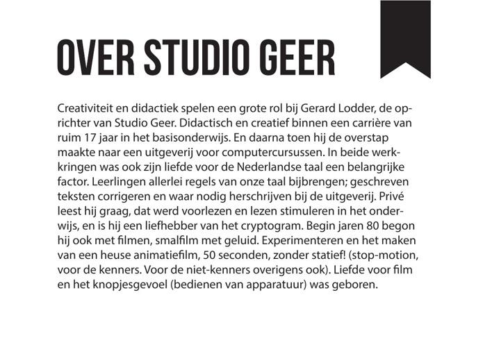 Over Studio Geer