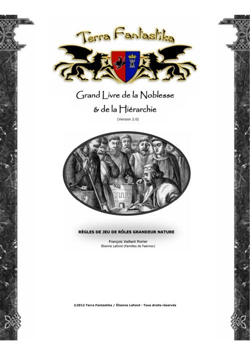 Grand Livre de la Noblesse et de la Hiérarchie