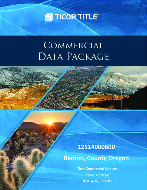 Commercial Data Package 12512000600