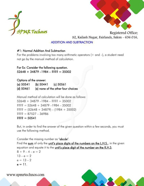 01_1_ADDITION AND SUBTRACTION