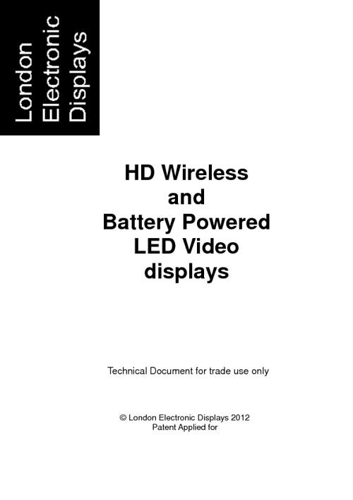 Wireless LED