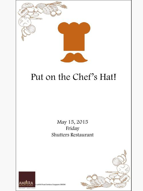Put on the Chef's Hat
