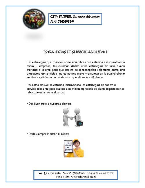 322976 Estrategias de Servicio al Cliente City Fruver