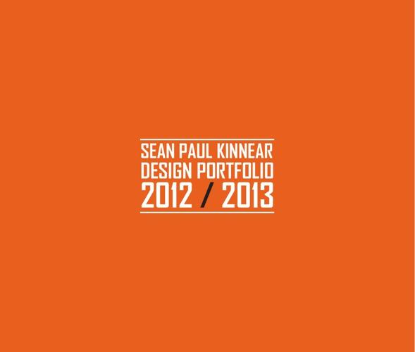 Sean Kinnear_Design Portfolio