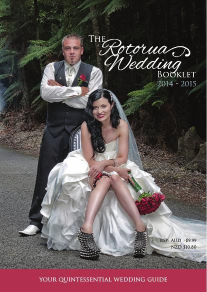Rotorua Wedding Booklet 2014 - 2015