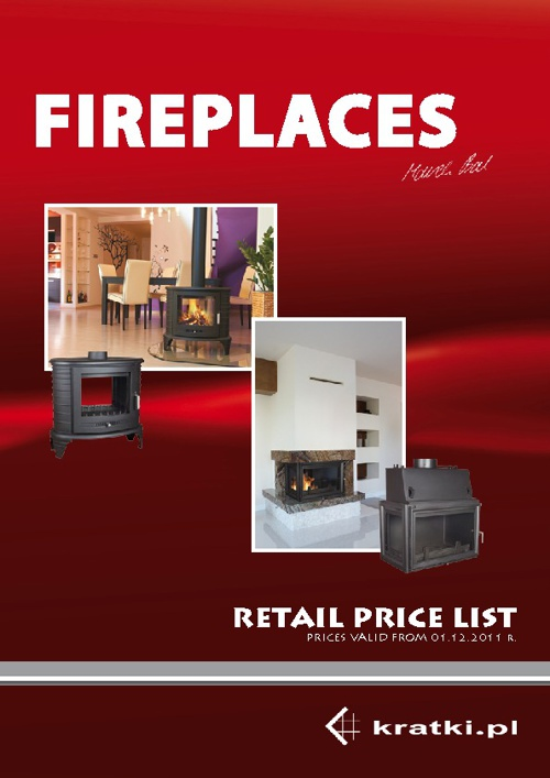 FIREPLACE PRICELIST