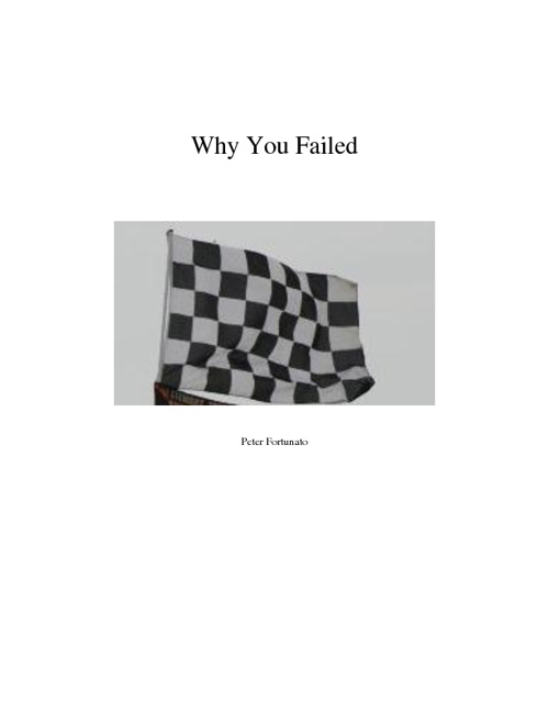 Why You Failed