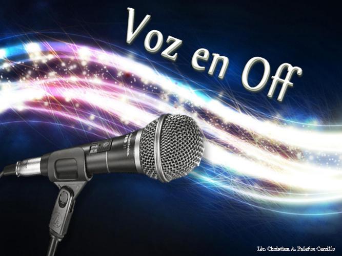 Voz off Video